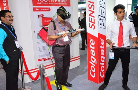 Work Ventures Adds the Tech Edge to Colgate Stall at World Dental Show