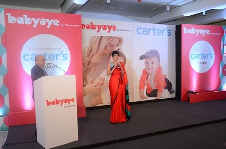 Carter's - Baby Oye Store-in-Stores Press Launch by NeoNiche; Mandira Bedi Guest of Honour