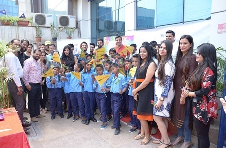 Vibgyor Brand Services Celebrates 16 Years Anniversary with Underprivileged Kids