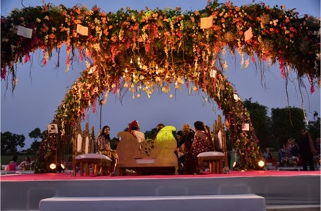 A Modern Fairytale with An Indian Twist – Wedding by Wedniksha