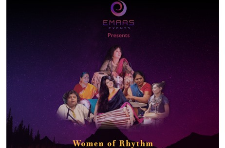 India's Female Percussionists Set to Awe Audiences at 'Women of Rhythm'