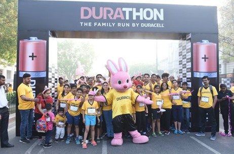 Duracell Successfully Concludes Its Fun-filled Family Run 'Durathon' in Delhi