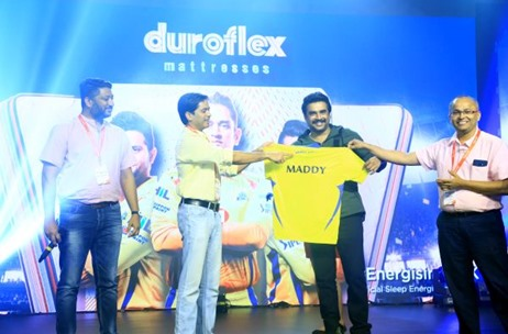 DUROFLEX Turns Official Sleep Partner for CSK; Distinct Communications Execute Announcement Event