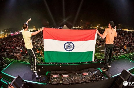 Dimitri Vegas & Like Mike End India Tour on A High Note At Sunburn Arena