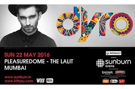 Dutch House Artist Dyro to Perform in Mumbai for Sunburn Arena