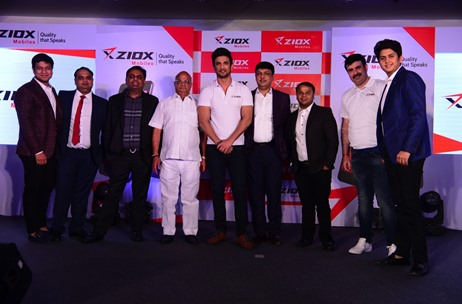 Ziox Mobiles Announces Sushant Singh Rajput as Brand Ambassador at Launch Event by Velocity India