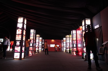 Digital Interactive Exhibition, at IFFI Goa 2019 Conceptualized, Designed and Executed by Tagbin