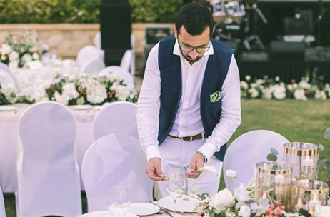 A British-Indian Beach Wedding In Dubai by Elie Berchan Wedding & Events Creation