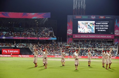 Emirates Does The Bhangra At The ICC World Twenty20 Final