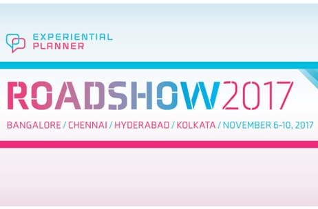 Experiential Planner Roadshow to visit Kolkata, Hyderabad, Chennai and Bangalore this November