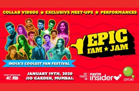 Qyuki & Paytm Insider Launch 'EPIC FAM JAM' Fan Festival For TikTok Stars & Instagram Icons