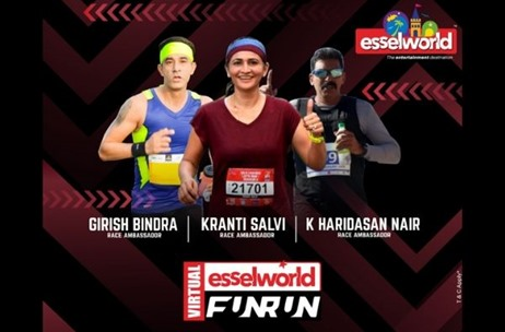 EsselWorld Hosts 'EsselWorld Virtual FunRun' with More than 500 Participants on May 24th 2020