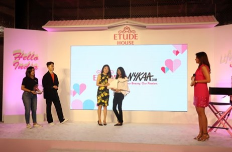 70 EMG Executes the Debut Launch Of Korean Cosmetic Brand - Etude House In Indian Market