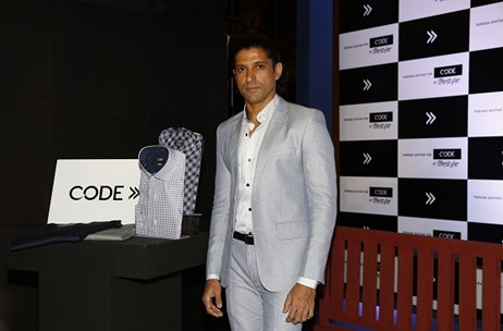 Code by Lifestyle Extends Association with Farhan Akhtar; Launches Spring-Summer Collection