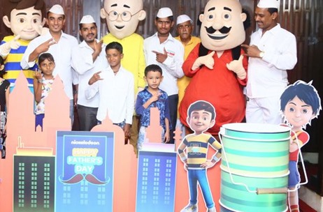 Nickelodeon Partners With Mumbai's Iconic Dabbawalas To Celebrate Father's Day
