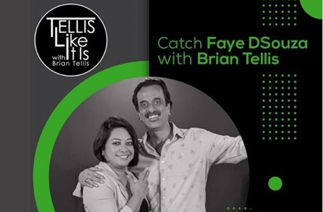 Faye Dsouza Shares an Exhilarating Story of Chasing Dreams & Making a Difference on TellisLikeItIs!