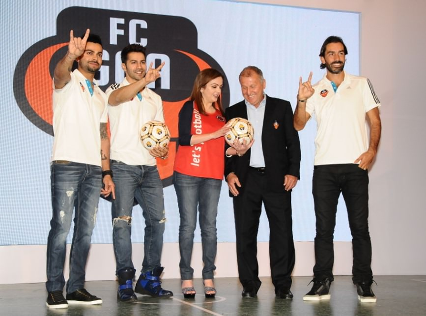 FC Goa gets Virat Kohli on board and associates with Adidas
