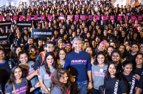 Reebok Fearless Run Organised by United Sisters Foundation an Initial Step Towards Pinkathon