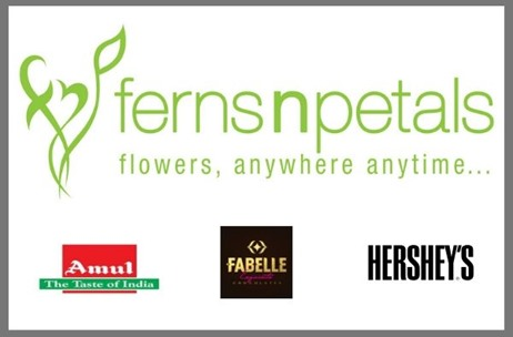 Ferns N Petals Announces its Collaboration With Hershey's, Amul, and Fabelle