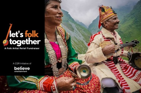 Believe Entertainment Launch a Digital Concert Series - Let's Folk Together to Support Folk Artists