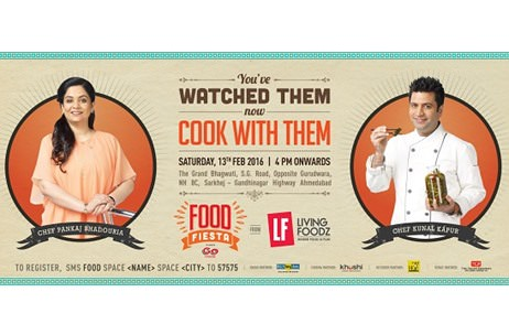 Living Foodz Food Fiesta Managed by Gravity Concepts To Feature Foodies And Celebrity Chefs