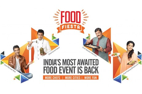 Food Fiesta 2017 Features Chefs Ranveer Brar and Pankaj Bhadouria; Managed by Outfox Media Group
