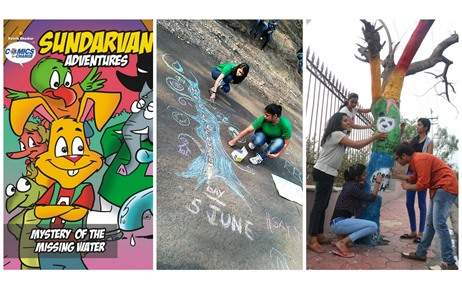 A 25-Day On-Ground Activation by Dainik Bhaskar For its Social Initiative 'Comics For Change'