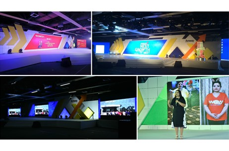 CS Direkt Designs Mega-themed Stage for Amway National Meet in Kolkata, Delhi & Mumbai