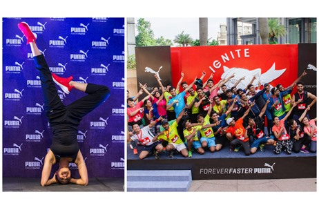 PUMA Launches Biggest Flagship Store & 'Ignite Your City' Campaign in India