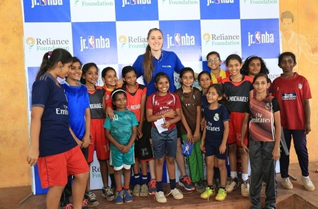 Fountainhead MKTG Partners With Reliance Foundation Jr NBA 2018-2019 Across India