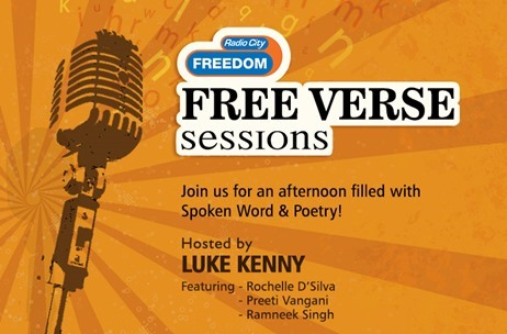 Radio City Free Verse Session with Luke Kenny at Monkey Bar, Mumbai