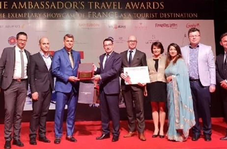 InORBIT Tours Wins the French Ambassador's GOLD AWARD for Showcasing France as a MICE Destination