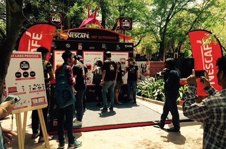 Vibgyor Conducts 3-Day Promotional Activity For 'MTV Presents Nescafé Labs'