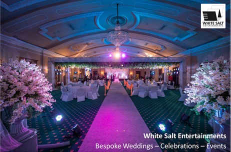 White Salt Entertainments Designs & Executes a Stunning 25th Wedding Anniversary