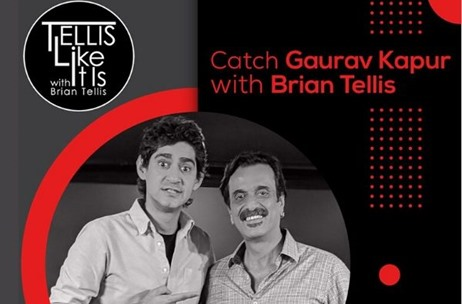 Gaurav Kapur Shares his Life Story, Drops Some Truth Bombs & More on Tellis Like It Is!