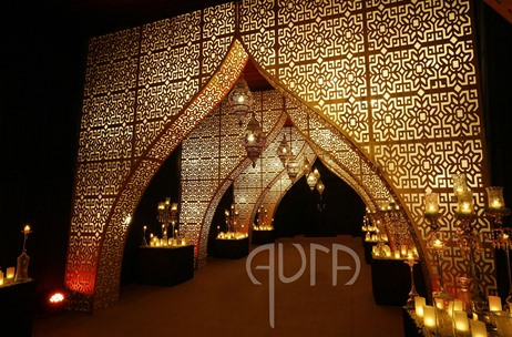 #Fabulousfive Tips to Glam up Your Wedding Décor;  by Gautam Vedi - Aura