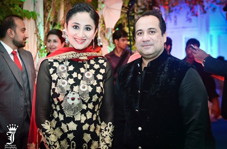Rahat Fateh Ali Khan, Gitikka Ganju Dhar @ Kashmir Themed Engagement by Touchwood Group