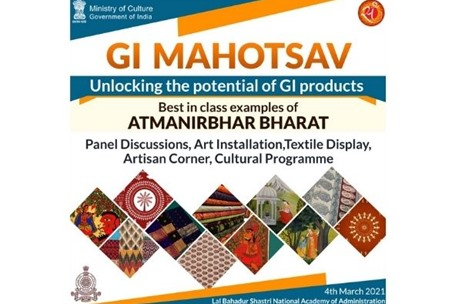 Ministry of Culture Organizes Special Programme at Geographical Indication (GI) Mahotsav, Mussoorie