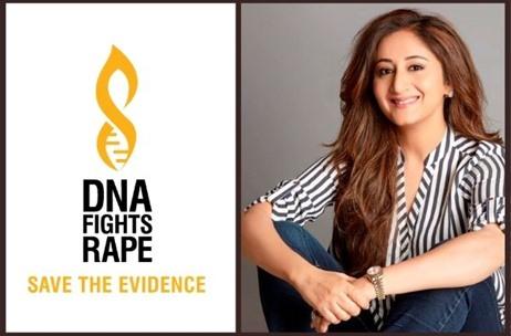 Gitikka Ganju Dhar Drives #DNAFightsRape Pledge