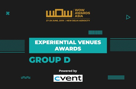 Meet the Winners of Experiential Venues Awards at WOW Awards Asia 2019