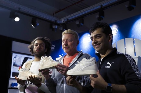 Boris Becker and Son Noah Engage Delhi Fans for Puma