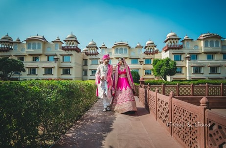 Taj Jai Mahal Palace Lights Up for this NRI Wedding in Jaipur - Planned by F5 Weddings