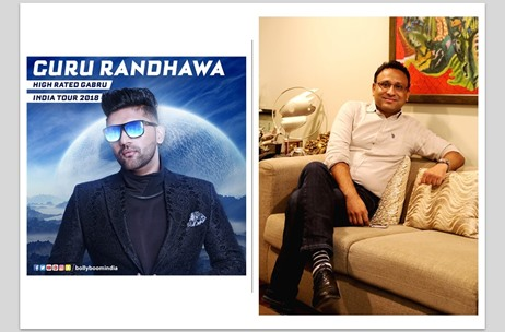 Investing Around INR 7-8 Cr in 'The Bollyboom Guru Randhawa India Tour': Manuj Agarwal, Percept LIVE