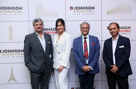 Flying Frog World Manages H & R Johnson's Launch Event With Brand Ambassador Katrina Kaif