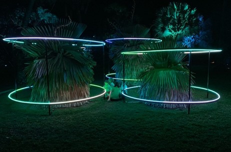 AGB Events Creates A Spectacular Light and Sound Event for 'HALO'