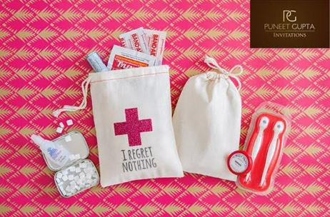 Hot Trend Wedding Hangover Kits Party Essentials For Guests India News Updates On Eventfaqs