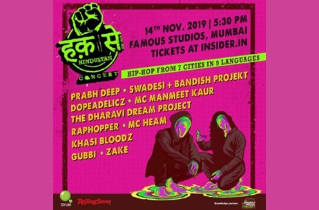 Haq Se Hindustan Concert Brings 10 Hip-Hop Acts From 7 Cities on One Big Stage