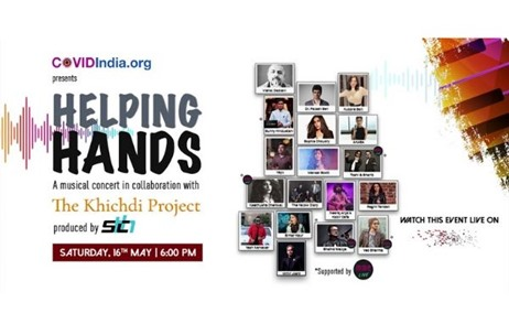 STCH & COVIDIndia.org to Launch a Virtual Concert 'Helping Hands' on 16th May