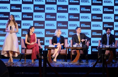 Hershey's Kisses Witnesses a Sweet Launch by Vibgyor at Four Seasons, Mumbai