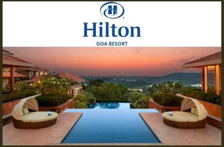 Hilton Expands Flagship Brand in India; Launches Third Property Under Hilton Hotels & Resorts at Goa